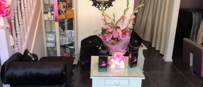 Inside Laura's new Beauty salon in Tutbury