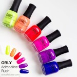 ORLY Adrenaline Rush fantastic Official nail salon Beauty by Laura Jayne Tutbury, Burton on Trent