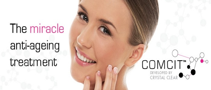 Offiicial stockist of Crystal Clear Skin products & treatment centre for COMCIT anti-ageing treatment