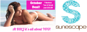 October Tan & Scrub deal at Beauty by Laura Jayne Tutbury