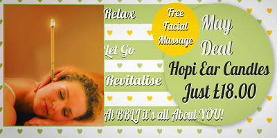 Hopi Candles plus free facial