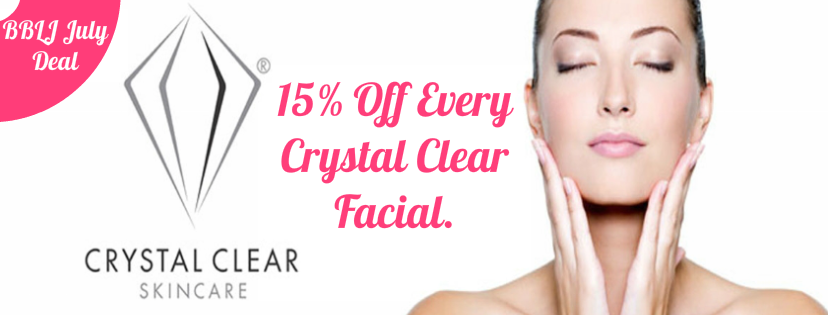 beauty by Laura Jayne July Crystal Clear Facials