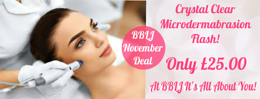 November Crystal Clear Skin Microdermabrasion, Tutbury, Burton , Derby